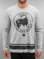 Dangerous DNGRS T-Shirt manches longues Rule The World gris