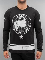 Dangerous DNGRS T-Shirt manches longues Rule The World noir