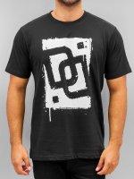 Dangerous DNGRS T-Shirt Sprayed Logo Race City noir