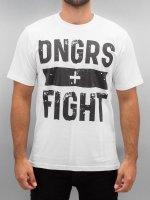 Dangerous DNGRS T-Shirt Fight weiß