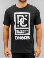 Dangerous DNGRS t-shirt Race City zwart