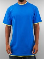 Dangerous DNGRS Tall Tees Two Tone blau