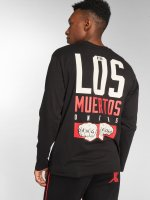 Dangerous DNGRS Tričká dlhý rukáv LosMuertos èierna
