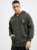 Dangerous I AM Hoodies con zip Namazu oliva