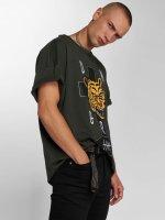 Dangerous I AM T-Shirt Akaname grün