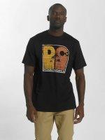 DC T-Shirty Sunset Palms czarny
