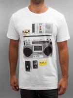 DEDICATED T-Shirt Casette Playa weiß