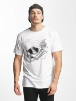 DEDICATED T-Shirt Coffee Vinyl weiß