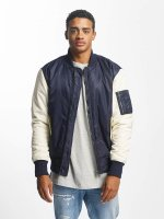 DEF Bomber jacket Two Tone blue