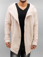 DEF Hoodies con zip Quilted beige
