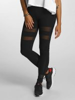 DEF Leggings Mesh nero