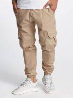 DEF Pantalon cargo Kindou beige