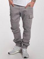 DEF Pantalon chino Cargo gris