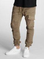 DEF Pantalone chino Cargo beige