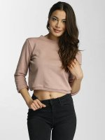 DEF Pullover Lace-up rosa