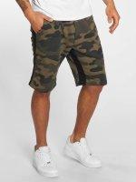 DEF Shortsit Mokolade camouflage
