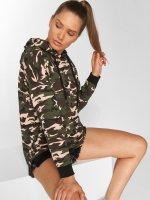 DEF Sweat capuche Amelia camouflage