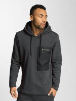 DEF Sweat capuche Shadow gris