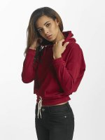 DEF Sweat capuche Lea rouge