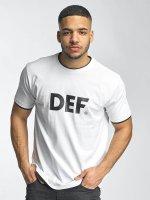 DEF T-paidat Logo valkoinen