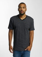 DEF T-shirts Stripes sort