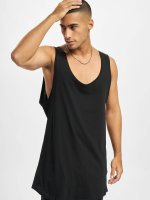DEF Tank Tops Basic Long schwarz