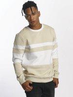 DEF trui Striped beige