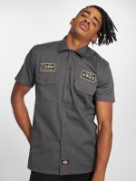 Dickies Camisa North Irwin gris