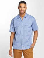 Dickies Chemise Shorts Sleeve bleu