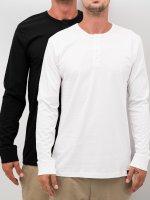 Dickies Pitkähihaiset paidat Seibert 2-Pack valkoinen