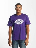 Dickies T-paidat HS One Colour purpuranpunainen