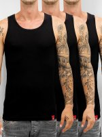 Dickies Tank Top Proof 3er-Pack svart