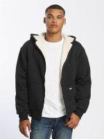 Dickies Zip Hoodie Sherpa Fleece black