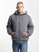 Dickies Zip Hoodie Sherpa Fleece grey