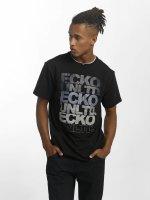 Ecko Unltd. T-Shirt Fuerteventura schwarz