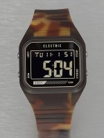 Electric Часы ED01 PU коричневый