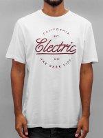 Electric T-Shirt CIRCLE SCRIP blanc