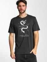 Electric T-Shirt CUT SNAKE noir