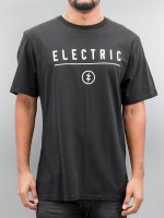 Electric t-shirt CORP IDENDITY zwart
