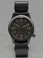 Electric Uhr FW01 Leather schwarz