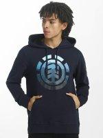 Element Hoody Logo Fill blau