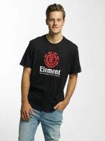 Element t-shirt Vertical zwart