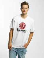 Element T-Shirty Vertical bialy