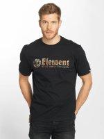 Element T-Shirty Horizontal Fill czarny