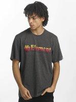 Element T-skjorter Horizontal Fill grå