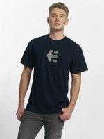 Etnies t-shirt Icon blauw