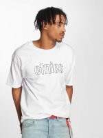 Etnies t-shirt Mod Stencil wit