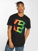 Etnies t-shirt Icon Sprayed zwart
