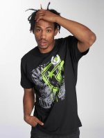 Famous Stars and Straps Camiseta Riot Wall Tee negro