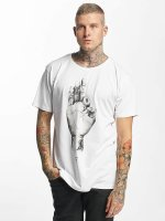 Famous Stars and Straps T-shirt FMS Sign bianco